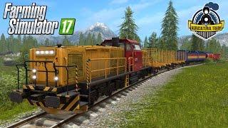 getlinkyoutube.com-Farming Simulator 17 Agricultural freight Train