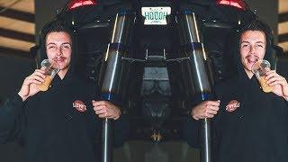 350Z Gets a PROTOTYPE Titanium Exhaust width=