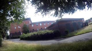 getlinkyoutube.com-Abandoned Hospital in England (Now getting trashed by thugs)