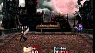 getlinkyoutube.com-Super Smash Bros. Brawl(Hacked)- Sephiroth vs. Cloud(V2)