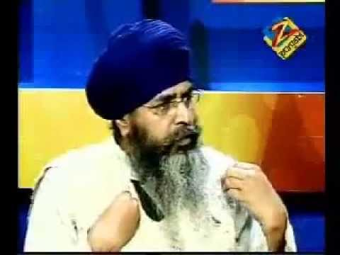 TV Discussion on Sant Jarnail Singh Bhindranwale's Portrait