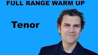 Singing Warm Up - Tenor Full Range width=