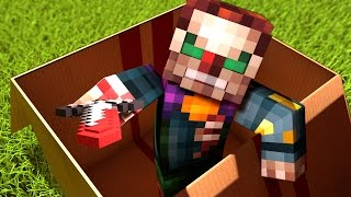 getlinkyoutube.com-I MAILED MYSELF In A BOX To A KILLER CLOWN!! In Minecraft