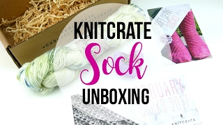 getlinkyoutube.com-KnitCrate SOCK Unboxing,  Episode 387