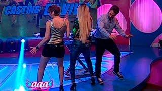 getlinkyoutube.com-Baile del toto: mira los atrevidos pasos de 'Peluchín' y Gigi