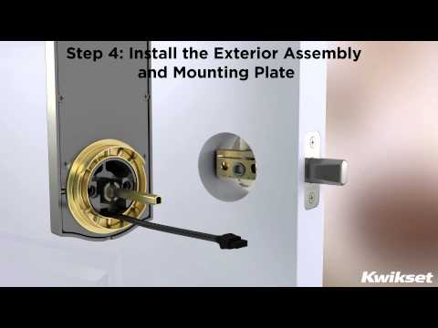 Installing the Kwikset SmartCode 916 with Z-Wave