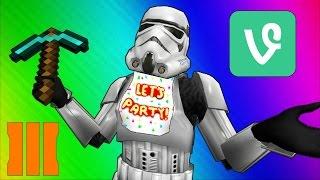 getlinkyoutube.com-Cod Zombies Funny Moments - Star Wars 7, Minecraft, FNAF, BO3, Vine, Prank!