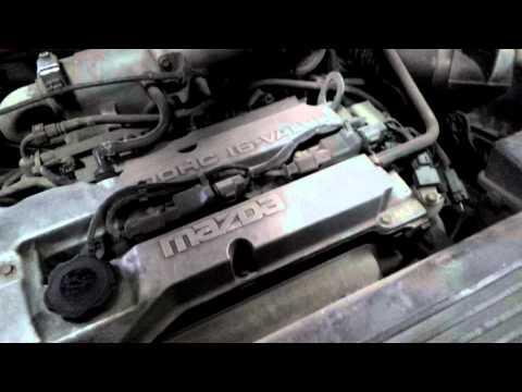Заменили прокладку приемной трубы Mazda Famila ZLDE проверяем результат