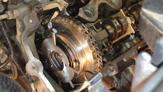 getlinkyoutube.com-Ford 4.6l 3v & 5.4L 3v Camshaft Phaser Knocking Noise Fix