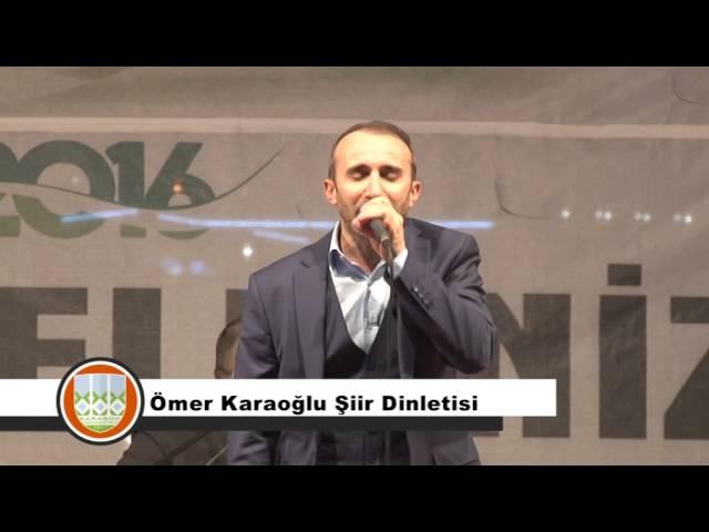 Ömer Karaoğlu Şiir Dinletisi