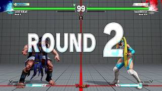getlinkyoutube.com-SFV ▰ The Best R Mika In The World Feat. Fuudo【1080p60 High Level Matches】