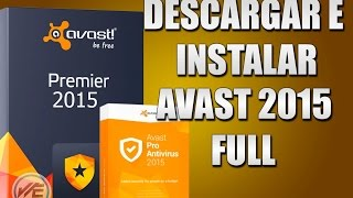 getlinkyoutube.com-Descargar e Instalar Avast 10  Cualquier Version Totalmente Full 2015  Licencia no Crack @DarkEngiel