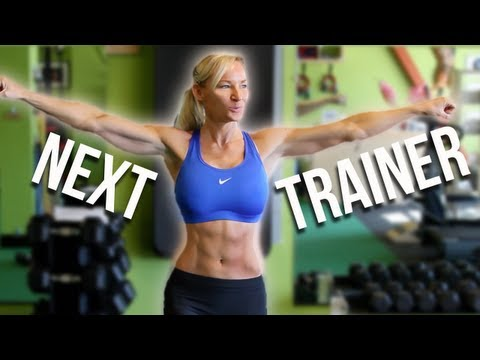 StrongLikeSusan is YouTube Next Trainer!!  WooHoo!!