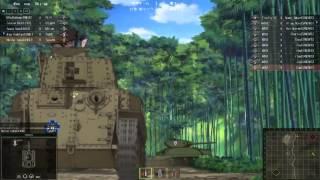 getlinkyoutube.com-【GuP】WORLD und PANZER - Flag-Tank Battle【WoT】