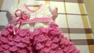 getlinkyoutube.com-Платье для девочки.