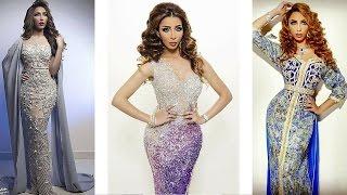getlinkyoutube.com-أجمل قفاطين وأزياء دنيا بطمة باربي العرب و سفيرة القفطان المغربي Dounia Batma Caftan Moderne HD