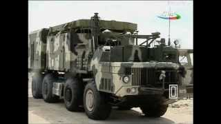 getlinkyoutube.com-Azerbaijan's S-300 Air Defence Missiles at positions