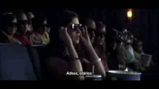 getlinkyoutube.com-Mulher assistindo no cinema o Filme 3D mais realístico do mundo
