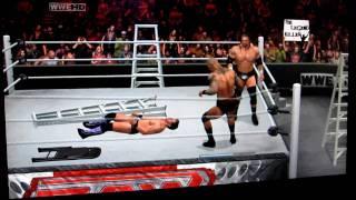 getlinkyoutube.com-WWE Smackdown vs Raw 2011 - Gameplay Triple Threat Ladder Match  Part 1/2 Xbox 360
