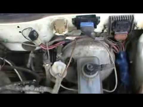 Причина троения двигателя из-за вакуумного усилителя тормозов