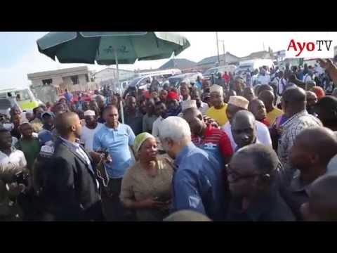 Lowassa alivyoingia mitaani Dar es salaam | Day 1