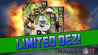 getlinkyoutube.com-Cowboys Lose! Limited Dez! | Madden 17 Ultimate Team - TOTW Pack Opening