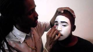 getlinkyoutube.com-PAINTING A MIME FACE BY: Kingdom Mime Ministries International (Nassau, Bahamas)