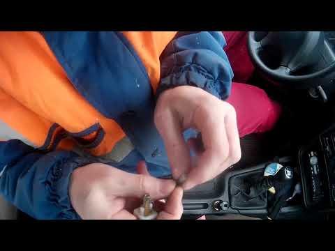 Peugeot 406. ремонт выключателя стоп сгнала