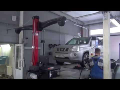 Ремонт рулевой рейки на Nissan X Trail.Ремонт рулевой рейки на авто Nissan X Trail