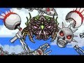 Terraria console - Ocram, Prime, Twins and Destroyer at the same time, magic kill