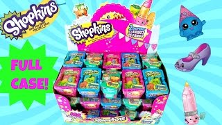 getlinkyoutube.com-SHOPKINS FULL CASE | Season 1 2 3 |  Blind Baskets Unboxing