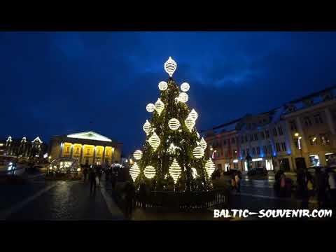 Новый год в Европе: Вильнюс, Литва