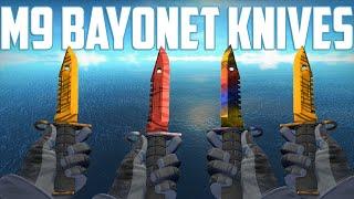 getlinkyoutube.com-CS:GO - M9 Bayonet Knives - All Skins Showcase