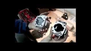 getlinkyoutube.com-Como trucar / potenciar motor 2 tiempos minimotos