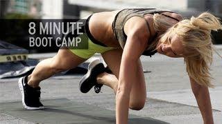 getlinkyoutube.com-8-Minute Boot Camp Workout