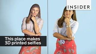 Možete dobiti 3D selfi :)