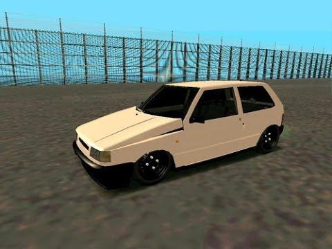 ¡Fiat Uno Al Piso Gta Sa + (Link De Descarga) + 3 Autos!