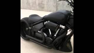 getlinkyoutube.com-Yamaha Road Star Warrior Rear 300