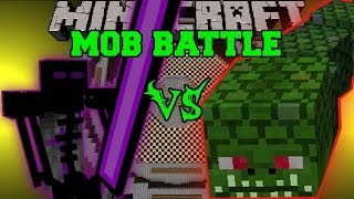 getlinkyoutube.com-NAGA VS ENDER KNIGHT - Minecraft Mob Battles - Twilight Forest and OreSpawn Mods