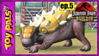 getlinkyoutube.com-Jurassic Park Builder Game 5: AQUATIC DINOSAUR PARK Unlocked at Level 10, Virtual Dinosaur Games