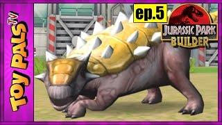 getlinkyoutube.com-Jurassic Park Builder Game 5: AQUATIC DINOSAUR PARK Unlocked at Level 10, Virtual Dinosaur Games
