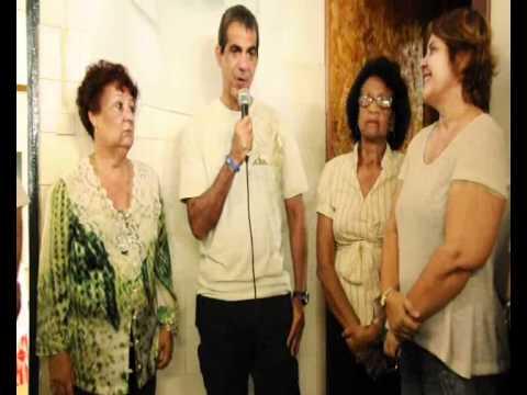 Durval Emocionado na inauguração do Studio Apae Salvador