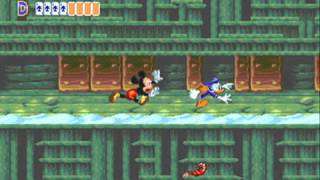 getlinkyoutube.com-World of Illusion Starring Mickey Mouse and Donald Duck 2 player Netplay game