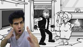 getlinkyoutube.com-حرامي دخل بيتنا ! كيف نفقع وجهه ؟ :(