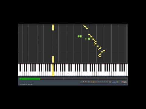 The Simpsons - Itchy and Scratchy show theme/ Piano synthesia