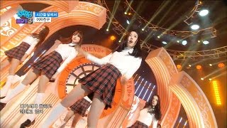 getlinkyoutube.com-【TVPP】 GFRIEND – Rough , 여자친구 – 시간을 달려서 @Comeback Stage, Show! Music core