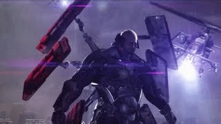 getlinkyoutube.com-Sundowner Boss Fight - Metal Gear Rising: Revengeance