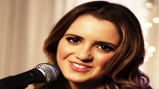 getlinkyoutube.com-Laura Marano | Last Christmas | Disney Playlist Sessions