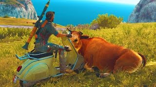 getlinkyoutube.com-Just Cause 3 Funny Moments #1 (Fails and Random Gameplay Moments)