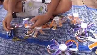 getlinkyoutube.com-Tirai Dari Limbah Gelas Plastik  Dokumenter_SDN Percobaan Palangaka raya